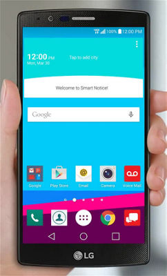 How to Use Gestures on Your LG G4™