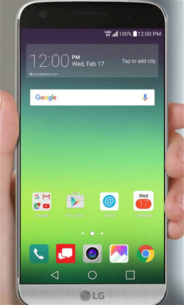Setting up Bluetooth on your LG G5
