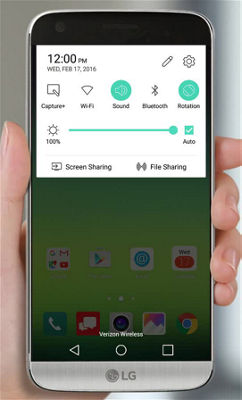 How to Share and Play Content on Your LG G5