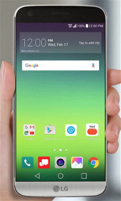 Browsing the Web on Your LG G5