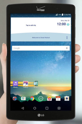 Adding Users to Your LG G Pad™ X8.3
