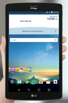 How to Set Up Wi-Fi on Your LG G Pad™ X8.3