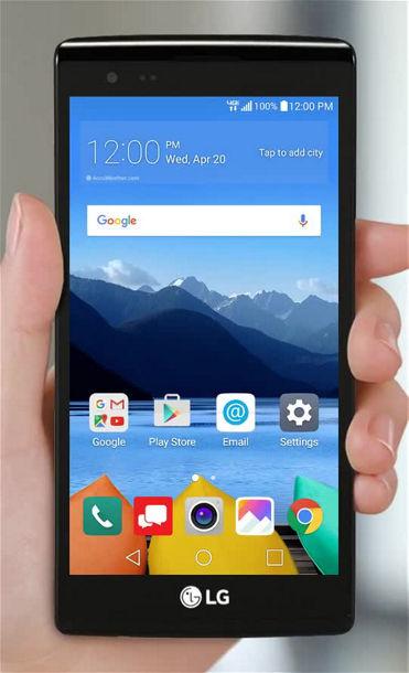 Email Set Up on Your LG K8 V