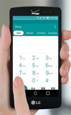 Making Calls on Your LG Lancet for Android