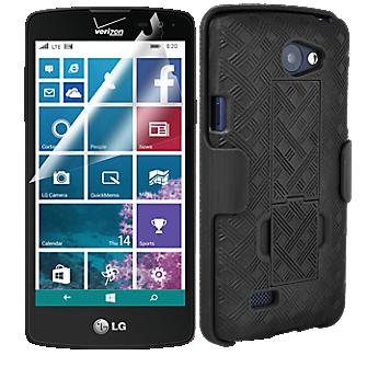 Protection Shell Holster Bundle for LG Lancet