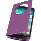 LG Quick Circle Folio Case for LG G3 - Violet