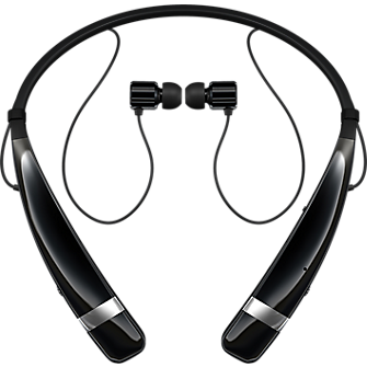 LG Tone Pro Bluetooth Stereo Headset - Black