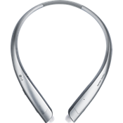 LG TONE Platinum Alpha Bluetooth Stereo Headset- Silver