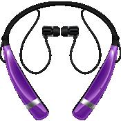 LG Tone Pro Wireless Stereo Headset - Purple