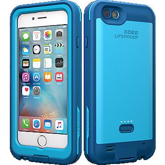 FRĒ Power Case for iPhone 6/6s - Base Jump Blue