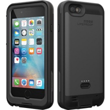 FRĒ Power Case for iPhone 6/6s - Blacktop