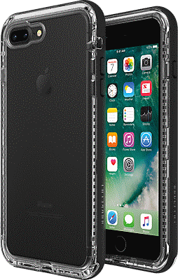 black iphone 8 plus phone case