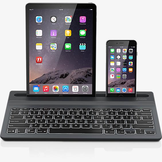Limitless Multi-Device Wireless Backlit Keyboard