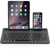 Limitless Multi-Device Wireless Backlit Keyboard - Black
