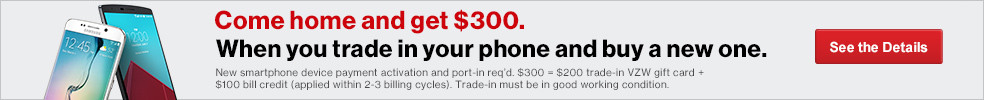 Trade in your phone. Buy a new one. Get $300.