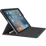 Logitech CREATE Backlit Keyboard Case with Smart Connector Technology for iPad Pro 9.7 - Black