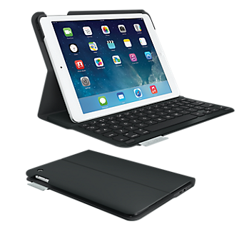 Logitech Ultrathin Keyboard Folio for iPad Air - Carbon Black
