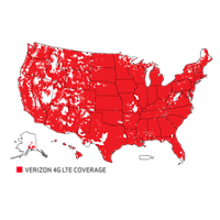 Better Matters Verizon Wireless - Verizon coverage map usa