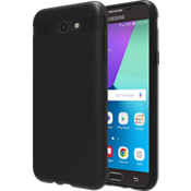 Matte Silicone Cover for Galaxy J3 Eclipse - Black