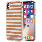 Stripe Case for iPhone X - Rose Gold
