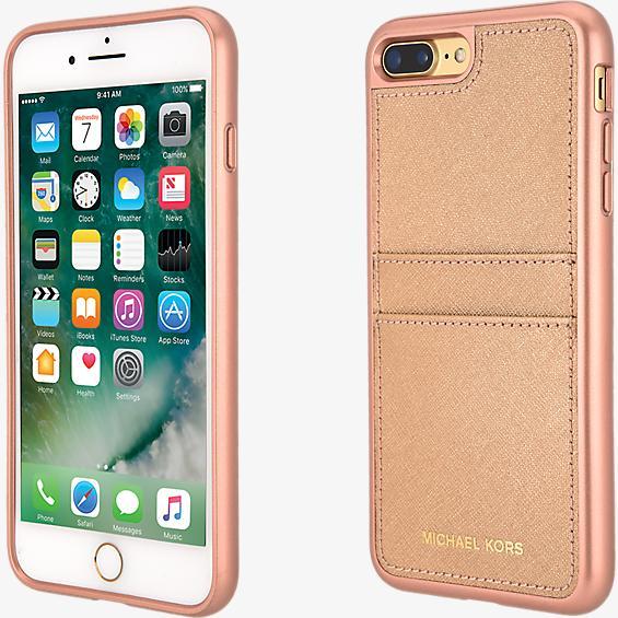 Saffiano Leather Pocket Case for iPhone 8 Plus/7 Plus