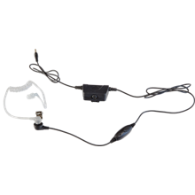 Smart 2-in-1 Acoustic Tube Surveillance Headset -Kodiak iOS