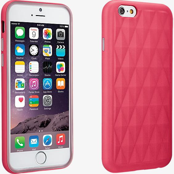Geometric Pattern case for iPhone 6/6s - Pink