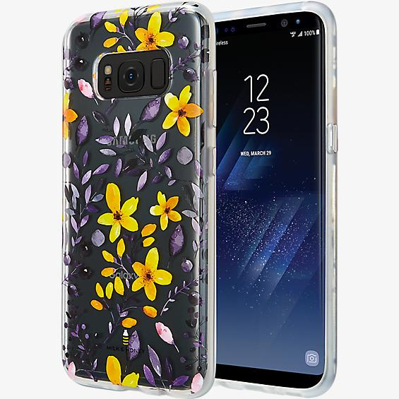Multi Floral Clear Case for Galaxy S8