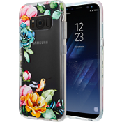Placed Floral Clear Case for Galaxy S8 - Clear