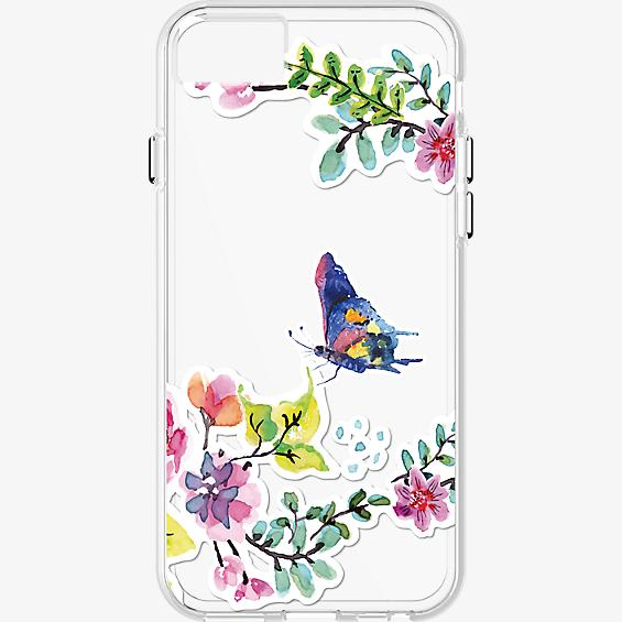 Butterfly pattern Clear Case for iPhone 7