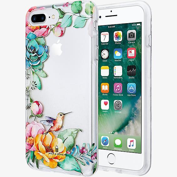 Placed Floral Clear Case for iPhone 7 Plus/6s Plus/6 Plus