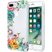 Placed Floral Clear Case for iPhone 7 Plus/6s Plus/6 Plus - Clear