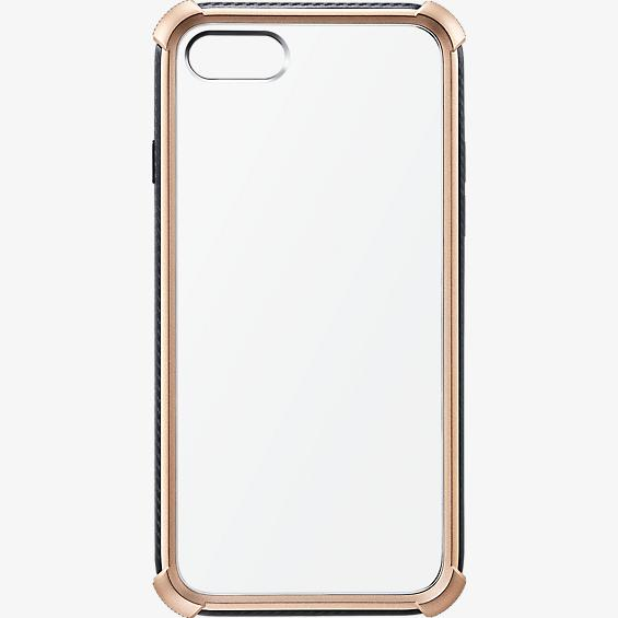 Gold Bumper Clear Case for iPhone 7