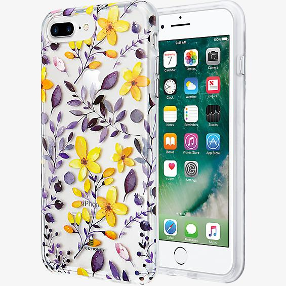 Multi Floral Clear Case for iPhone 7 Plus/6s Plus/6 Plus