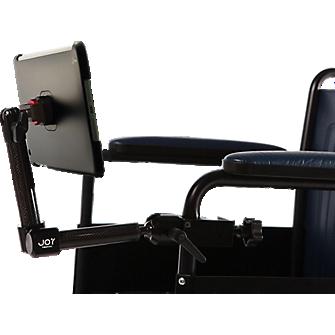 The Joy Factory MagConnect Wheelchair Mount for iPad mini 2