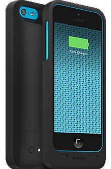 detailed look 6b361 50948 juice pack helium for iPhone 5c - Black