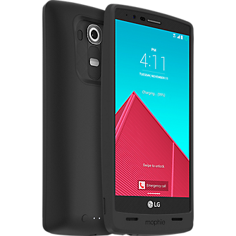 juice pack for LG G4 - Black