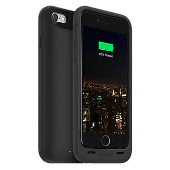mophie juice pack plus for iPhone 6/6s - Black