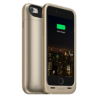 mophie juice pack plus for iPhone 6/6s - Gold