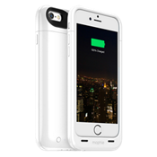 mophie juice pack plus for iPhone 6/6s - White