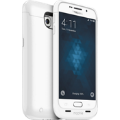 juice pack for Samsung Galaxy S 6 - White