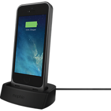 juice pack® Helium made for iPhone SE (1,500 mAh) with Desk Dock bundle