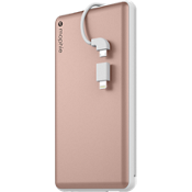 powerstation plus 12000 with Switch-Tip Cable - Rose Gold