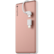 powerstation plus 6000 with Switch-Tip Cable - Rose Gold