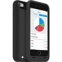 mophie space pack for iPhone 6/6s-32GB- Black