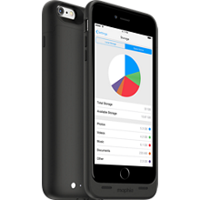 mophie space pack for iPhone 6/6s Plus - 32GB - Black