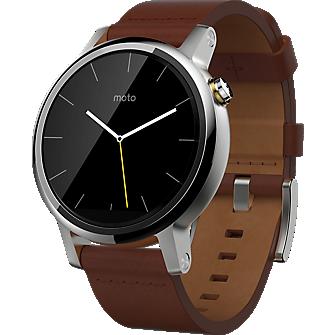 Motorola Moto 360 2nd Gen for Men 42mm - Leather