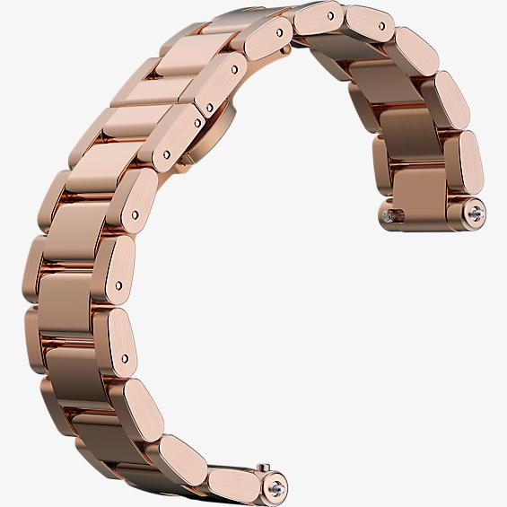 Watch Band for Moto 360 2nd Gen for Women - Rose Gold Metal