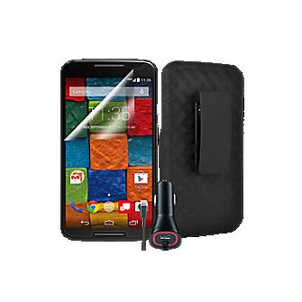 Essential Travel Bundle for Moto X (2nd Gen.)