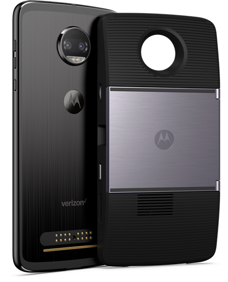 Moto Z2 Force Back